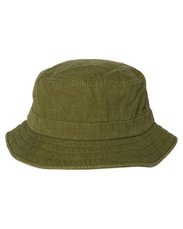 SURPLUS GREEN MENS ACCESSORIES RUSTY HEADWEAR - HHM0402SUG