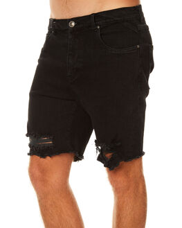 BLACK MENS CLOTHING RUSTY SHORTS - WKM0886BLK