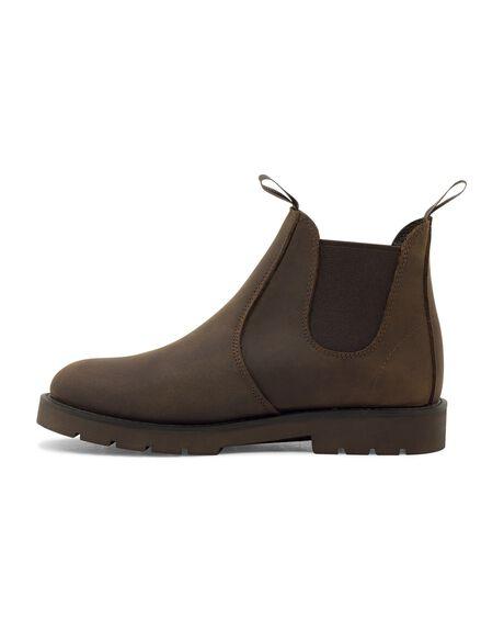 BROWN BUFF WOMENS FOOTWEAR ROC BOOTS BOOTS - JUMBUK2WL-BRNB-35