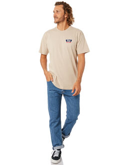 VANILLA MENS CLOTHING BRIXTON TEES - 16172VANIL