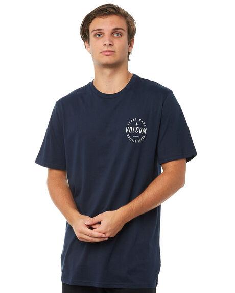NAVY MENS CLOTHING VOLCOM TEES - A5011875NVY