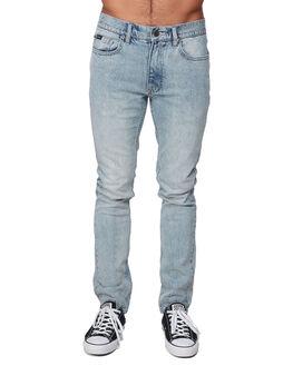 STONE VINTAG MENS CLOTHING RVCA JEANS - RV-R307222-SVT
