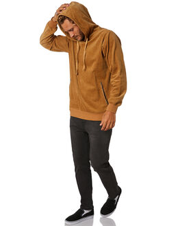MOCHA MENS CLOTHING THE CRITICAL SLIDE SOCIETY JUMPERS - FC1841MOCHA