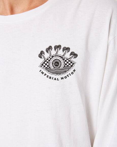 WHITE MENS CLOTHING IMPERIAL MOTION TEES - 201901003058WHT