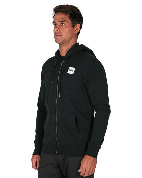 BLACK MENS CLOTHING RVCA JUMPERS - RV-R305154-BLK