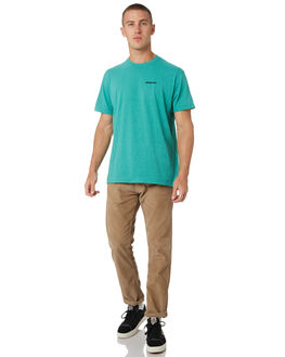 BERYL GREEN MENS CLOTHING PATAGONIA TEES - 39174BRYG