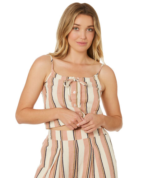 FRAPPE WOMENS CLOTHING BILLABONG FASHION TOPS - 6595106FRA