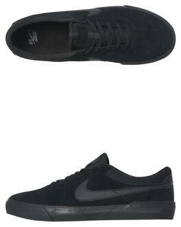 BLACK BLACK MENS FOOTWEAR NIKE SKATE SHOES - 844447-008