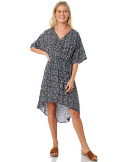 NAVY WOMENS CLOTHING TROUBLE LOVES COMPANY DRESSES - T8188442NAVY