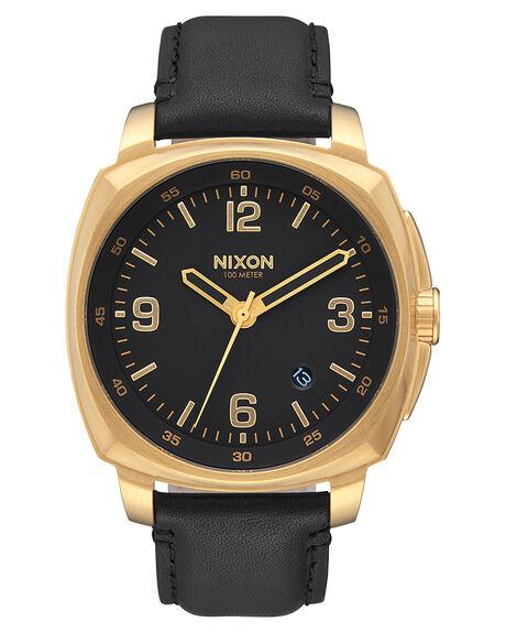 GOLD  BLACK MENS ACCESSORIES NIXON WATCHES - A1077513
