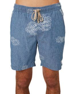 STEEL BLUE MENS CLOTHING BANKS SHORTS - BS0194SBL