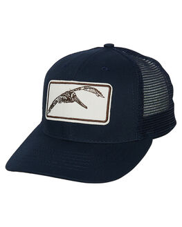 NAVY MENS ACCESSORIES MOLLUSK HEADWEAR - MS1869NVY
