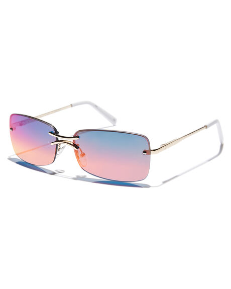 BRIGHT GOLD WOMENS ACCESSORIES LE SPECS SUNGLASSES - LSP2002163BGLD