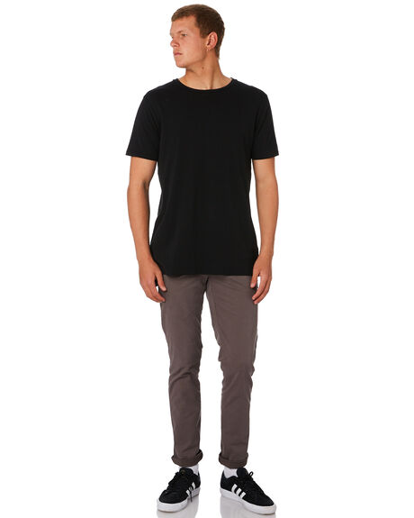 GREY MENS CLOTHING GLOBE PANTS - GB01216010GRY