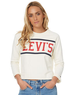 MARSHMALLOW WOMENS CLOTHING LEVI'S JUMPERS - 35940-0000MARS