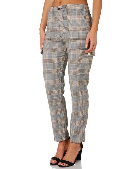 MULTI WOMENS CLOTHING TWIIN PANTS - IE19S1430MUL