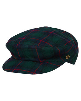 GREEN TARTAN MENS ACCESSORIES FALLENBROKENSTREET HEADWEAR - W19-13-03GRNT