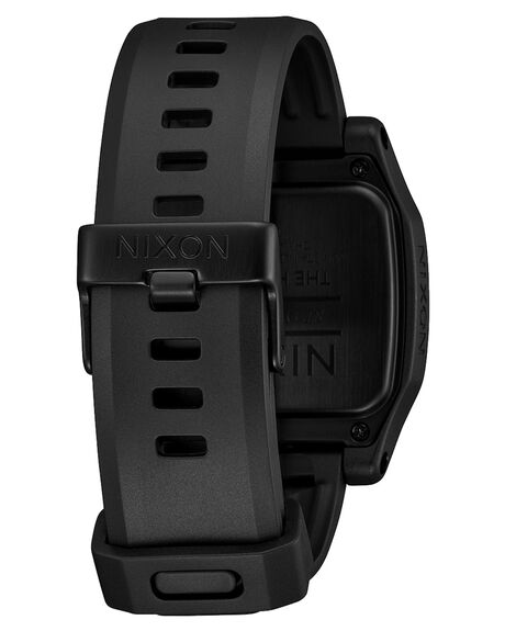 BLACK RED MENS ACCESSORIES NIXON WATCHES - A1308008