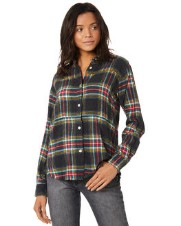 BLACK WOMENS CLOTHING HURLEY FASHION TOPS - AR1762010