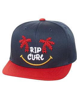 NAVY KIDS BOYS RIP CURL HEADWEAR - OCAZN30049