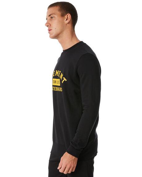 FLINT BLACK MENS CLOTHING ELEMENT JUMPERS - 186331FBLK