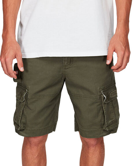 OLIVE MENS CLOTHING ELEMENT SHORTS - EL-193351-OLV