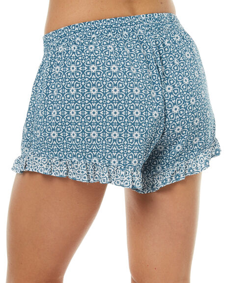 MALIBU WOMENS CLOTHING RHYTHM SHORTS - OCT17W-WS03MAL