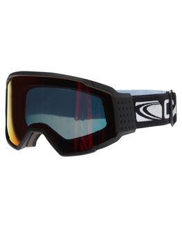 MATT BLK ORANGE REVO SNOW ACCESSORIES CARVE GOGGLES - 6091BKOR