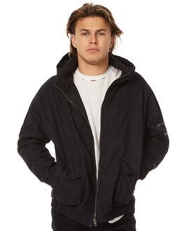 BLACK MENS CLOTHING ZANEROBE JACKETS - 501-RISEBLK