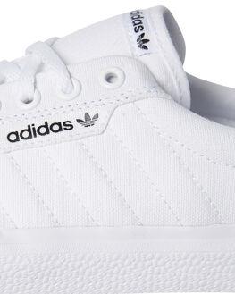 WHITE MENS FOOTWEAR ADIDAS SKATE SHOES - SSB22705WHIM