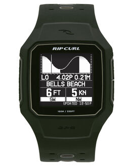 MILITARY GREEN MENS ACCESSORIES RIP CURL WATCHES - A11440854