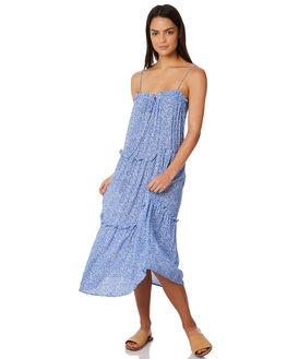 BLUE SPECKLE WOMENS CLOTHING ELWOOD DRESSES - W84714BLU
