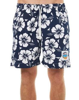 NAVY MENS CLOTHING OKANUI BOARDSHORTS - SOHBNV