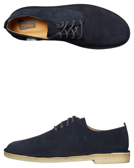 MIDNIGHT MENS FOOTWEAR CLARKS ORIGINALS FASHION SHOES - SS26122624MIDNIM