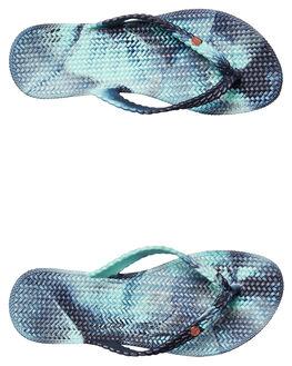 PEACOAT WOMENS FOOTWEAR BILLABONG THONGS - 6671801PEC