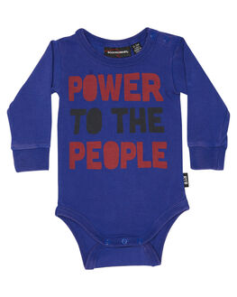 NAVY WASH KIDS BABY ROCK YOUR BABY CLOTHING - BBB1812-PTNVYW