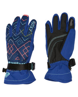 SODALITE BLUE ASTA BOARDSPORTS SNOW ROXY GLOVES - ERGHN03011BYB9
