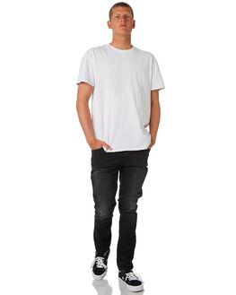 BLACK N GREY MENS CLOTHING NUDIE JEANS CO JEANS - 112952BKGR