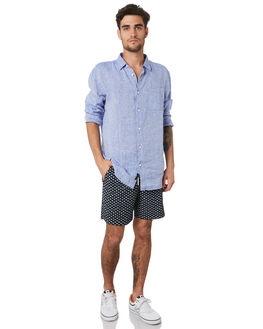 NAVY MENS CLOTHING ACADEMY BRAND SHORTS - 20S690NVY
