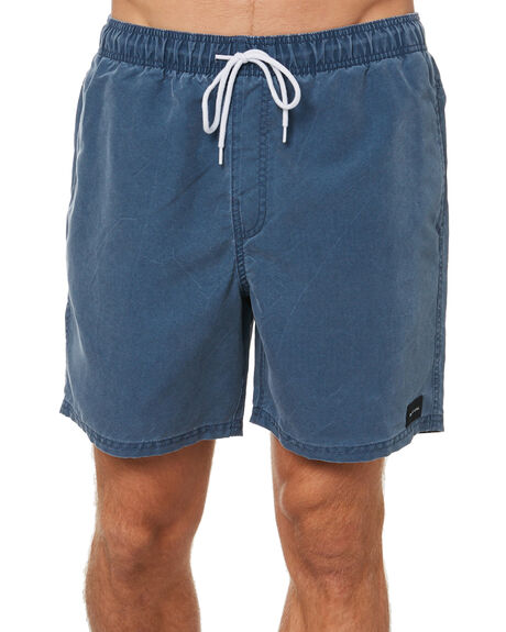 WASHED NAVY MENS CLOTHING RIP CURL BOARDSHORTS - CBOCY99741