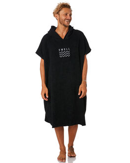 BLACK MENS ACCESSORIES SWELL TOWELS - S51641803BLK