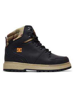 BLACK MULTI BOARDSPORTS SNOW DC SHOES BOOTS + FOOTWEAR - ADYB700022KMI
