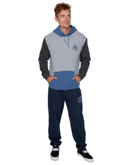 BIJOU BLUE MENS CLOTHING QUIKSILVER JUMPERS - EQYFT03911BNG0