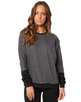 CHAR BLACK WOMENS CLOTHING SWELL JUMPERS - S8183541CHBLK