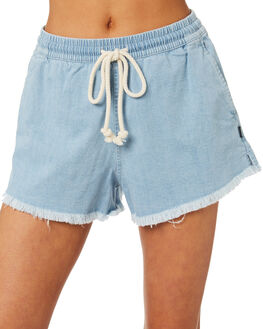 SKY CHAMBRAY WOMENS CLOTHING BONDS SHORTS - CVLCI-PJD