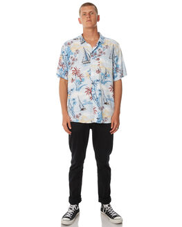 BLUE MENS CLOTHING SWELL SHIRTS - S5184174BLUE