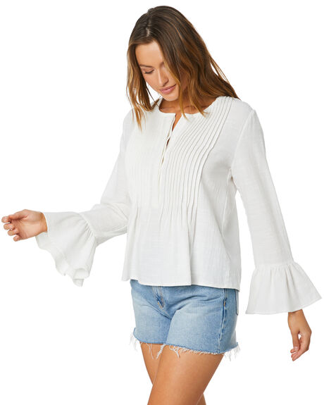 WHITE WOMENS CLOTHING MINKPINK FASHION TOPS - MP2006403WHT