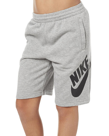 Nike Kids Boys Sb French Terry Logo Short - Dk Grey ...