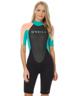 BLACK SEA GLASS SURF WETSUITS O'NEILL SPRINGSUITS - 3801OAZX6