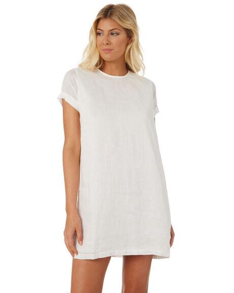 WHITE WOMENS CLOTHING SAINT HELENA DRESSES - SHS18816WHT